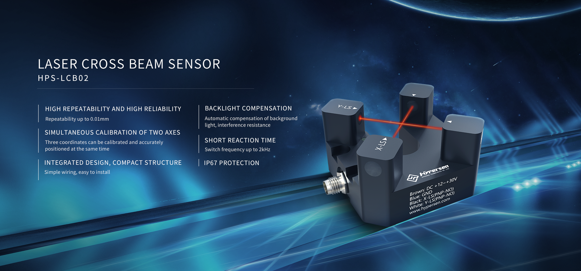 Laser Cross Beam Sensor