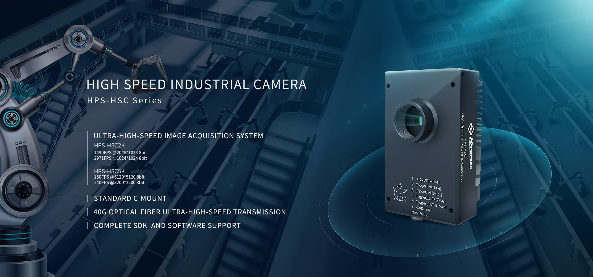 High Speed Industrial Camera